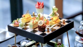 Afternoon Tea is a Culinary Journey through The Garden