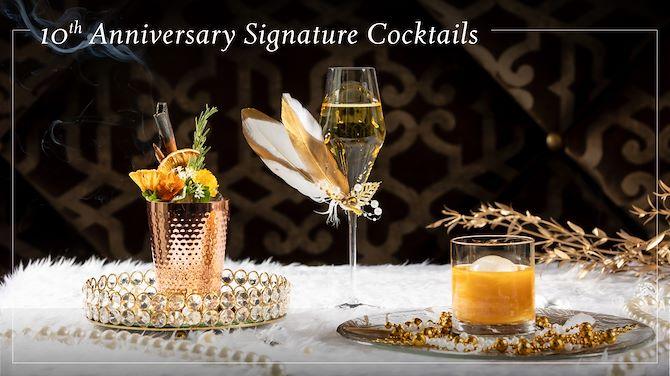10th Anniversary Signature Cocktails ซิกเนเจอร์ค็อกเทลพิเศษครบรอบ 10 ปี