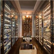 Best winery in the world in French Grill walk-in wine cellar