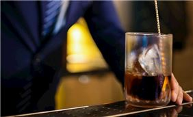 Treat yourself a signature cocktail at Cool Cats Jazz Club