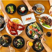 Exceptional Asian and Western cuisine with authentic local tastes