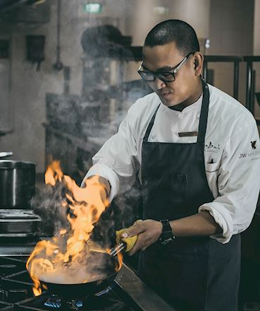 Chef James JW Marriott Hanoi