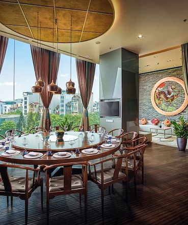 Jade private dining room