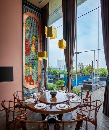 pearl private dining room in hanoi