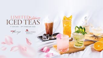 Limited Edition Iced Teas at The Lobby Lounge